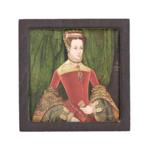 Retrato de una mujer, envejecido 16, previamente i caja de joyas de calidad