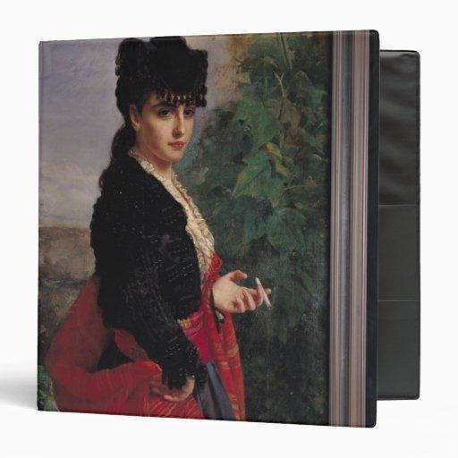 """Retrato de una mujer española carpeta 1 1/2"""""""