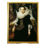 Retrato de una mujer holandesa joven tarjetas postales