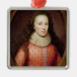 Retrato de una mujer, identificado tradicionalment ornamento de navidad