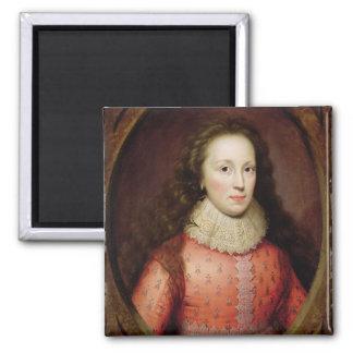 Retrato de una mujer, identificado tradicionalment iman de frigorífico