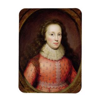 Retrato de una mujer, identificado tradicionalment imanes de vinilo