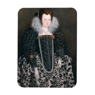 Retrato de una mujer, identificado tradicionalment iman de vinilo