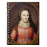 Retrato de una mujer, identificado tradicionalment libros de apuntes con espiral