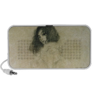 Retrato de una mujer joven, 1896-97 iPod altavoz