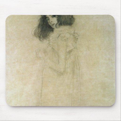 Retrato de una mujer joven, 1896-97 mousepads