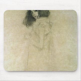 Retrato de una mujer joven 1896-97 tapete de ratón