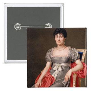 Retrato de una mujer joven Len de tres cuartos ase Pins
