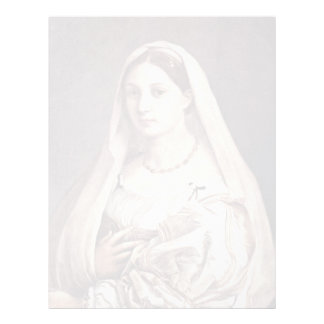 Retrato de una mujer (La Velata) por Raffael Membrete
