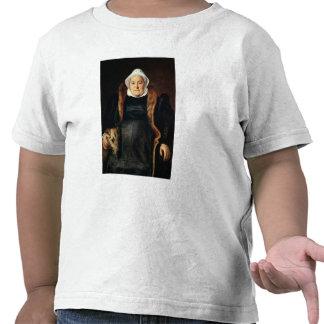 Retrato de una mujer mayor camiseta