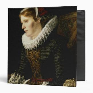 """Retrato de una mujer noble carpeta 1 1/2"""""""