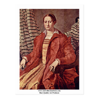Retrato de una mujer noble de Bronzino Ángel Postales