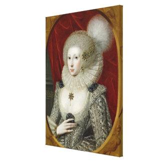 Retrato de una mujer, posiblemente algodón de Fran Impresión En Lienzo Estirada