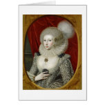 Retrato de una mujer, posiblemente algodón de Fran Tarjetas