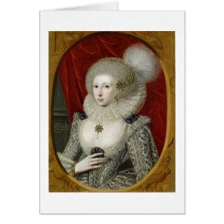 Retrato de una mujer, posiblemente algodón de Fran Tarjeta De Felicitación