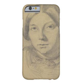 Retrato de una mujer, posiblemente George Sand Funda De iPhone 6 Barely There