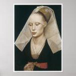 Retrato de una señora, 1460 poster