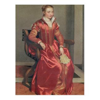 Retrato de una señora, c.1555-60 tarjetas postales