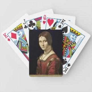 Retrato de una señora de la corte de Milano Barajas De Cartas