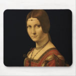 Retrato de una señora de la corte de Milano Mousepads