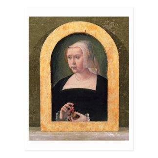 Retrato de una señora (el panel) postales