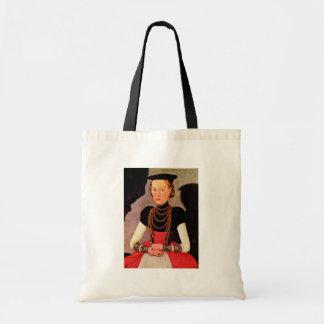 Retrato de una señora por Cranach D.J. Lucas (el m Bolsa