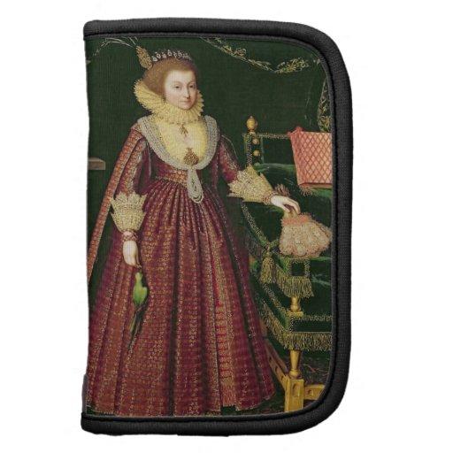 Retrato de una señora, posiblemente Elizabeth, con Planificadores
