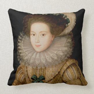 Retrato de una señora, posiblemente reina de Maria Cojín