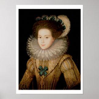 Retrato de una señora, posiblemente reina de Maria Impresiones