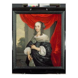 Retrato de una señora postal