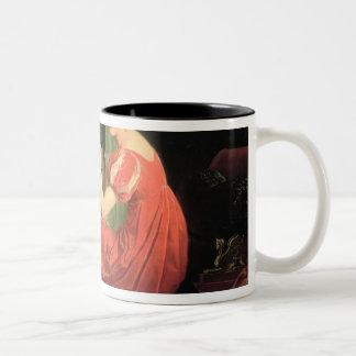 Retrato de una señora taza