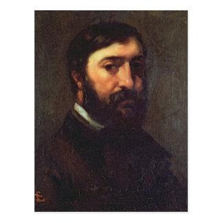 Retrato de Urbain Cuenot 1846 Tarjetas Postales