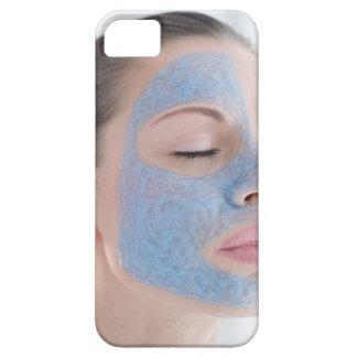 retrato de usted mujer con un de cara mayor funda para iPhone 5 barely there