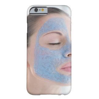 retrato de usted mujer con un de cara mayor funda para iPhone 6 barely there