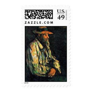 Retrato de Vallier de Paul Cézanne (la mejor Sellos