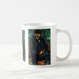Retrato de Vallier (el marinero) por Paul Cézanne Tazas