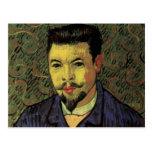 Retrato de Van Gogh del doctor Felix Rey, arte del Postal