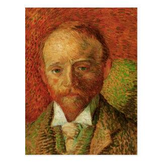 Retrato de Van Gogh del marchante Alexander Reid Postal