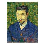 Retrato de Van Gogh el | del Dr. Félix Rey el | Postal
