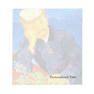 Retrato de Van Gogh el | del Dr. Gachet Libretas Para Notas