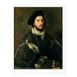 Retrato de Vicente Mosti (aceite en lona) Tarjetas Postales