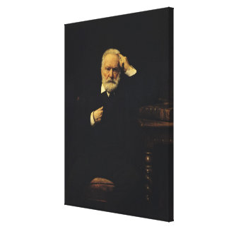 Retrato de Victor Hugo 1879 Impresion En Lona
