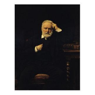 Retrato de Victor Hugo 1879 Postal