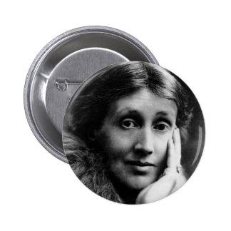 Retrato de Virginia Woolf Pin Redondo 5 Cm