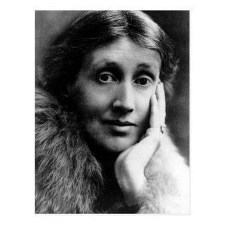 Retrato de Virginia Woolf Tarjeta Postal