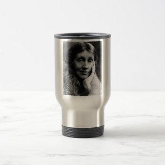 Retrato de Virginia Woolf Taza Térmica
