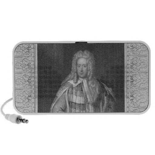 Retrato de vizconde Bolingbroke de Henry St. John Altavoces De Viaje
