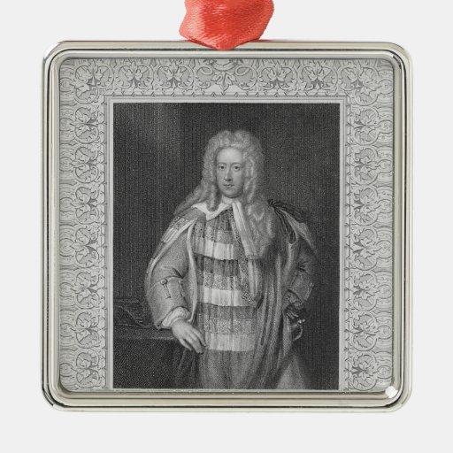 Retrato de vizconde Bolingbroke de Henry St. John Ornatos