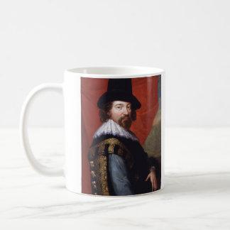 Retrato de vizconde St Alban de sir Francis Bacon Tazas