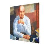 Retrato de Vladimir Ilyich Lenin, 1934 Impresion De Lienzo